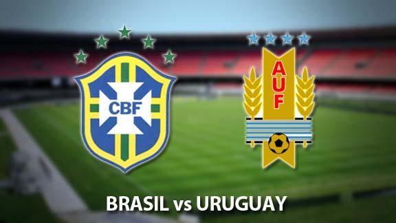 Prediksi Skor Brasil Vs Uruguay 26 Maret 2016 Kualifikasi Piala Dunia